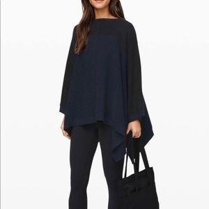 NWT Lululemon It All Lines Up Poncho